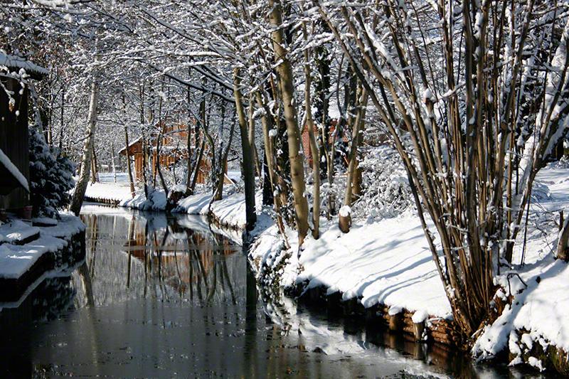 Spreewälder Wintermärchen